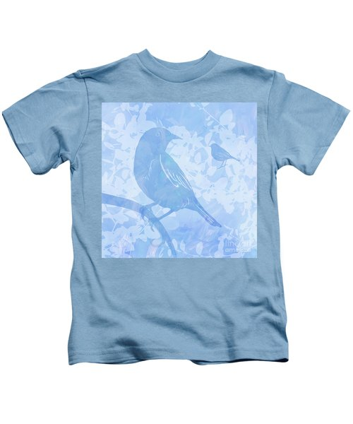 Tree Birds I Kids T-Shirt