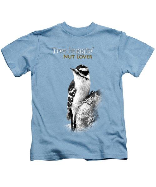 Tree Huggin' Nut Lover Kids T-Shirt