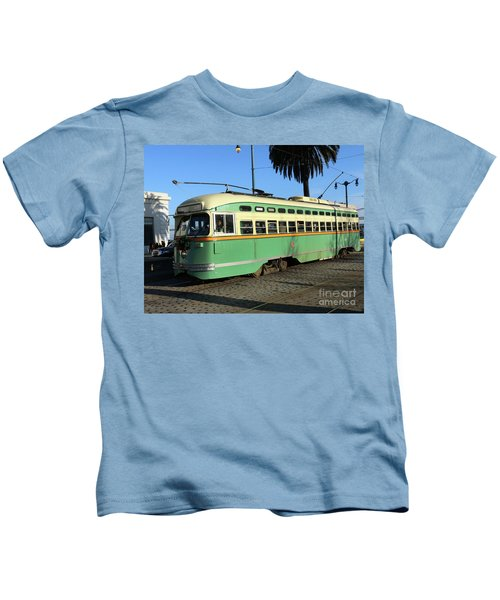 Trolley Number 1058 Kids T-Shirt