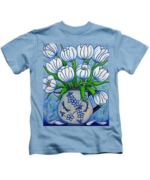 Tulip Tranquility Kids T-Shirt