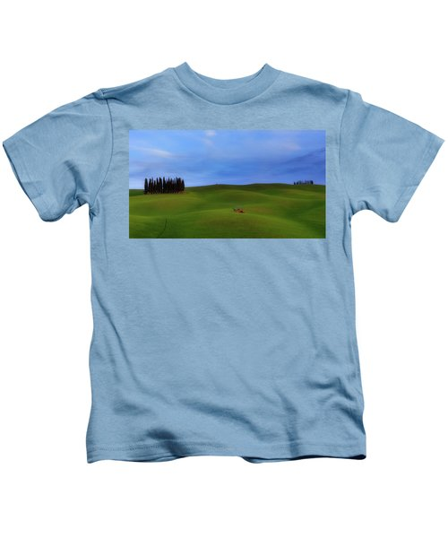 Tuscan Landscaping Kids T-Shirt