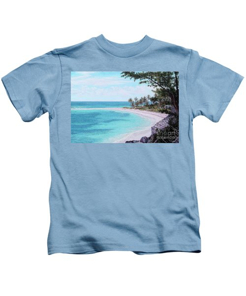 Twin Cove Paradise Kids T-Shirt