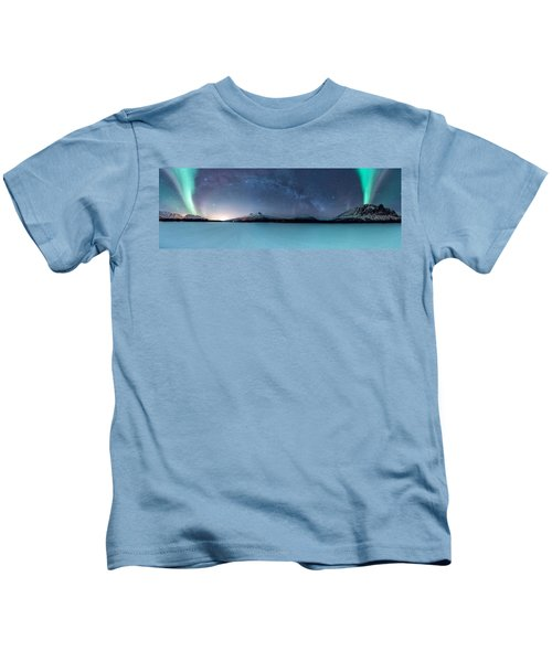 Twin Eruption Kids T-Shirt