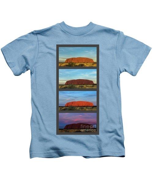 Uluru Sunset Kids T-Shirt