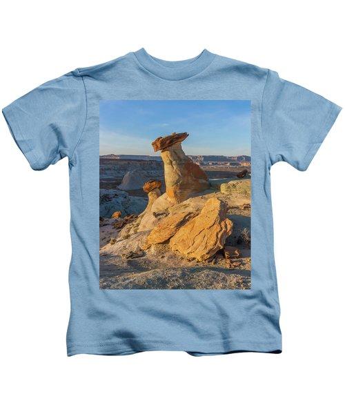 Utah Hoodoos At Sunset Kids T-Shirt