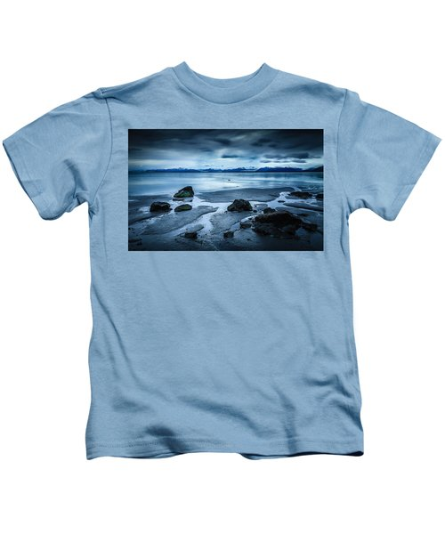 Vatnajokull From Stokksnes Kids T-Shirt