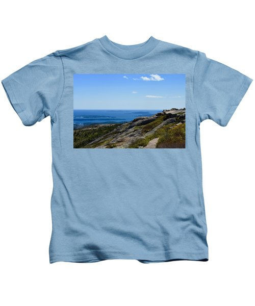 View From Cadillac Mountain Kids T-Shirt