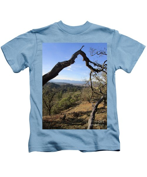 View From Cathedral Hills Kids T-Shirt