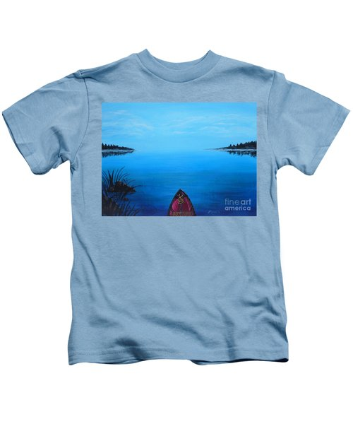View From The Beach Kids T-Shirt