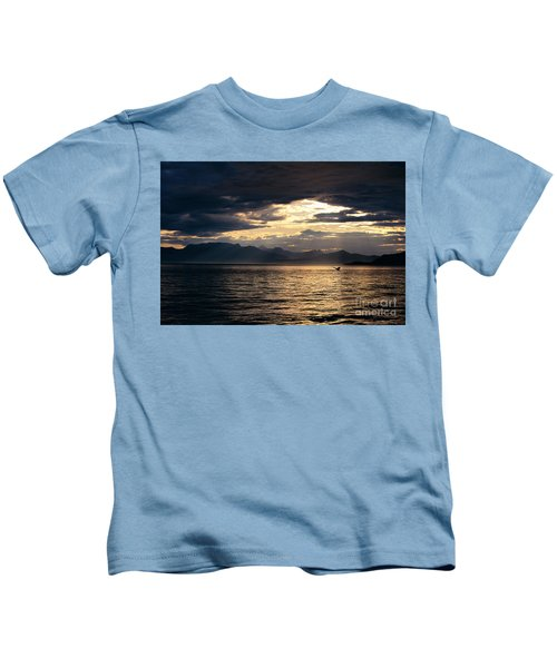 View Of Alaska Kids T-Shirt