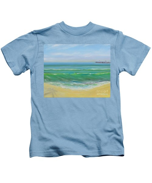View To The Pier Kids T-Shirt