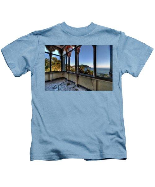 Villa Of Windows On The Sea - Villa Delle Finestre Sul Mare II Kids T-Shirt