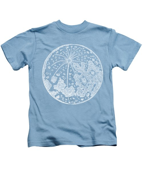 Vintage Planet Tee Blue Kids T-Shirt