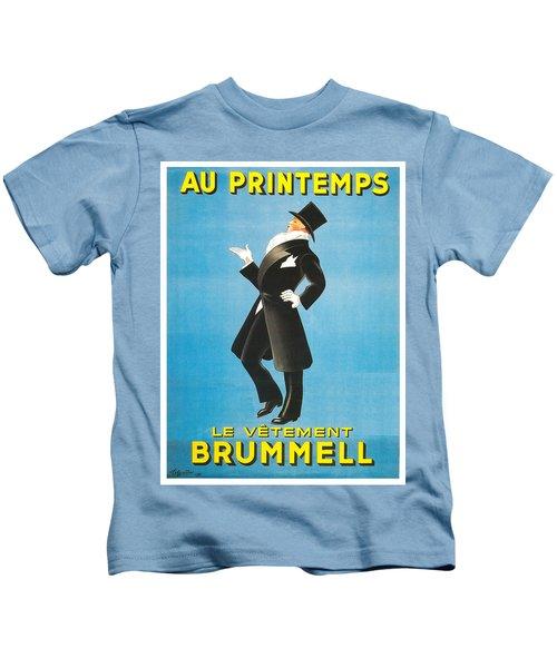 Vintage Poster - Au Printemps Kids T-Shirt