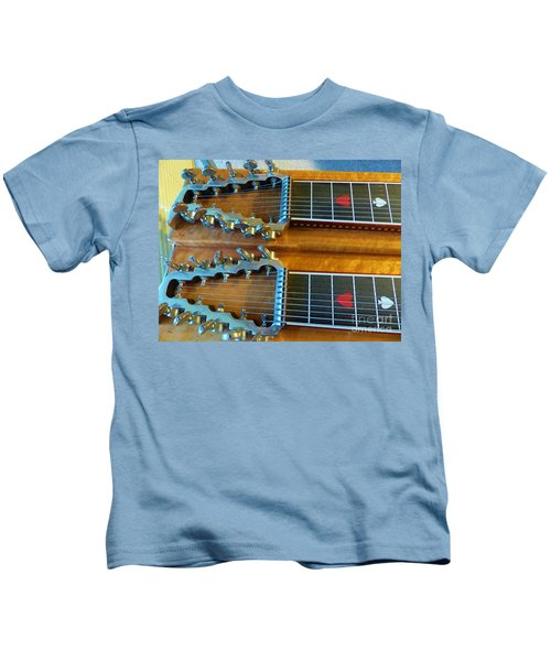 Vintage Sho-bud Pedal Steel Kids T-Shirt