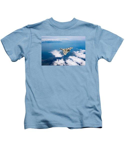 Vulcan Over South Wales Kids T-Shirt