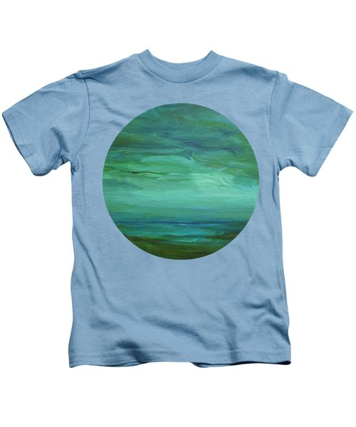 Waiting By The Shore Kids T-Shirt