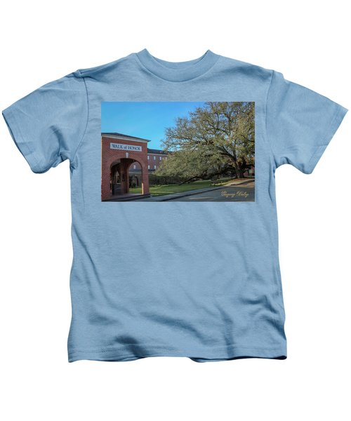 Walk Of Honor Entrance Kids T-Shirt