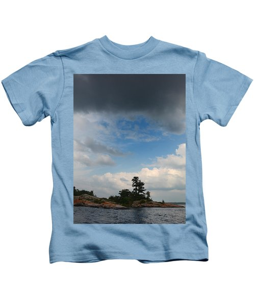 Wall Island 3623 Dramatic Sky Kids T-Shirt