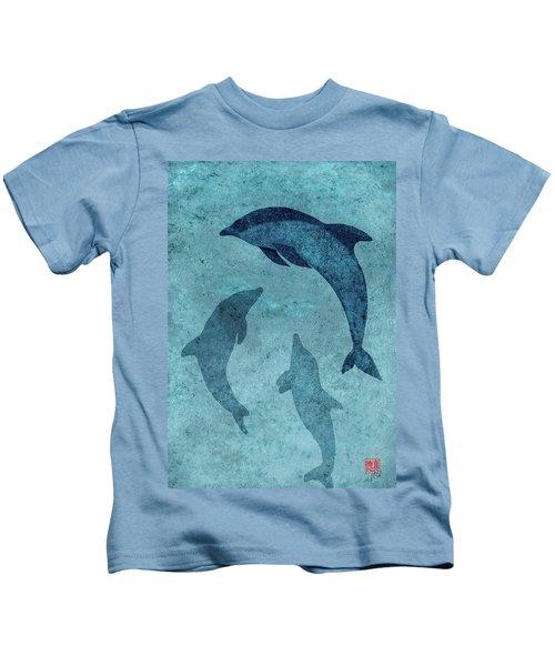 We Dream Again Of Blue Green Seas Kids T-Shirt