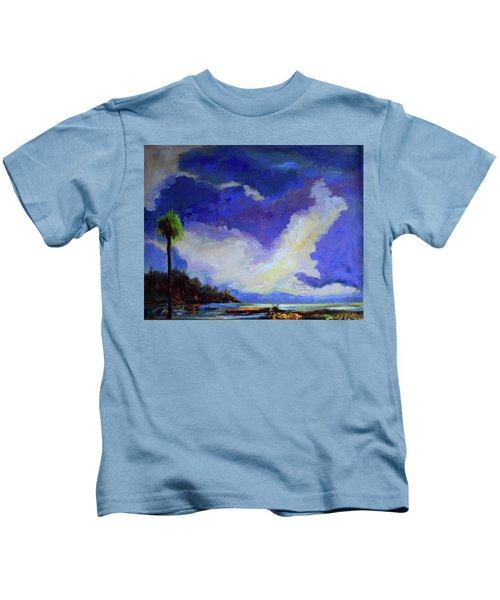 Wetlands Sky  Kids T-Shirt
