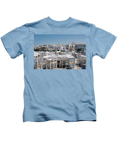 Whitewashed Naoussa Kids T-Shirt
