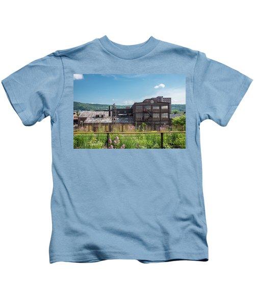 Wildflowers At Bethlehem Kids T-Shirt