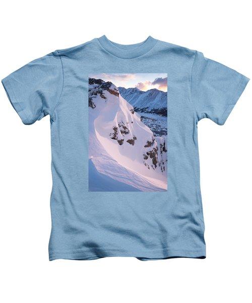 Wind-sculpted Sunset Kids T-Shirt
