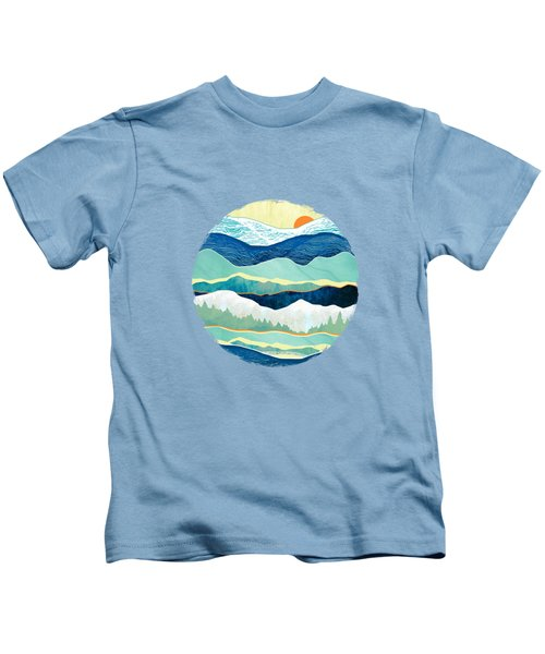Winter Afternoon Kids T-Shirt