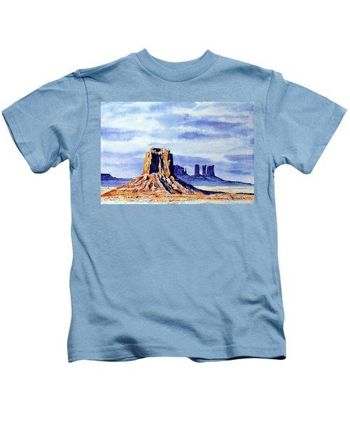 Winter At Merrick Butte Kids T-Shirt