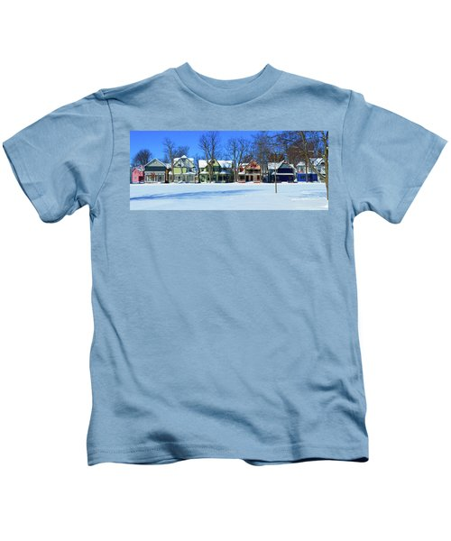 Winter At Ti Park Kids T-Shirt