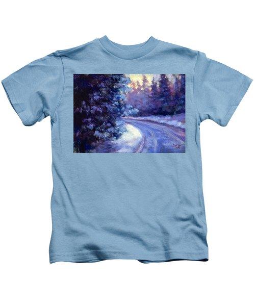 Winter's Exodus Kids T-Shirt