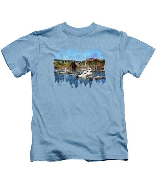 Worlds Smallest Harbor Kids T-Shirt