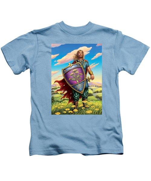 Yarrow - Protective Shield Kids T-Shirt