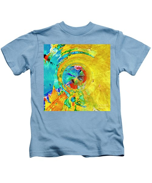 Yellow Eclipse  Kids T-Shirt