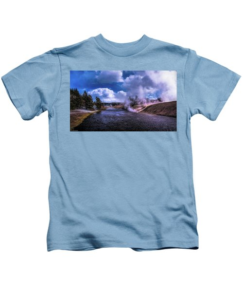 Yellowstone River Kids T-Shirt
