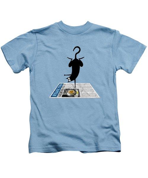 Yoga Mat Kids T-Shirt