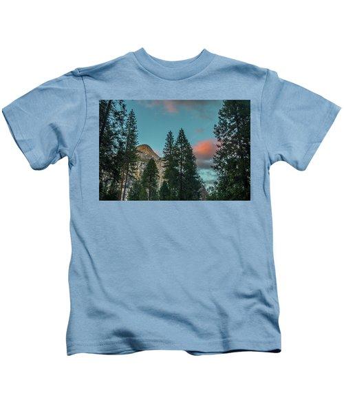 Yosemite Campside Evening Kids T-Shirt