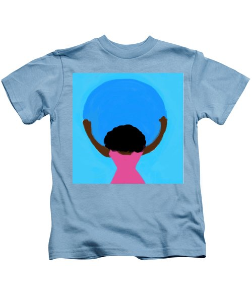 You Can Carry The Moon 103 Kids T-Shirt