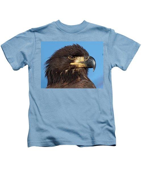 Young Eagle Head Kids T-Shirt