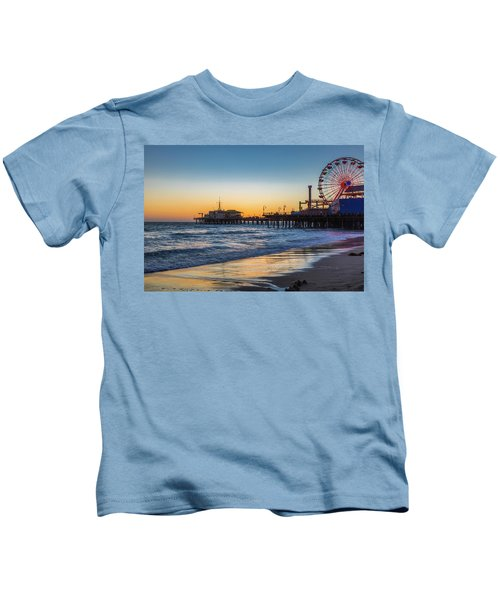 Pacific Park On The Pier Kids T-Shirt
