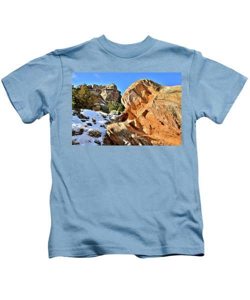 Colorful Colorado National Monument Kids T-Shirt
