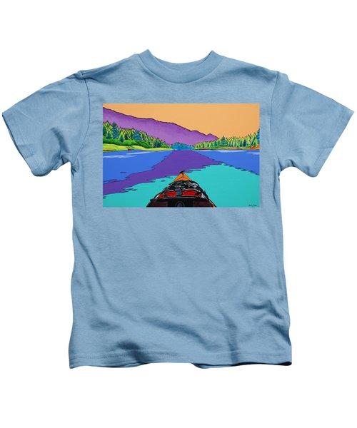 A Beautiful Day Kids T-Shirt