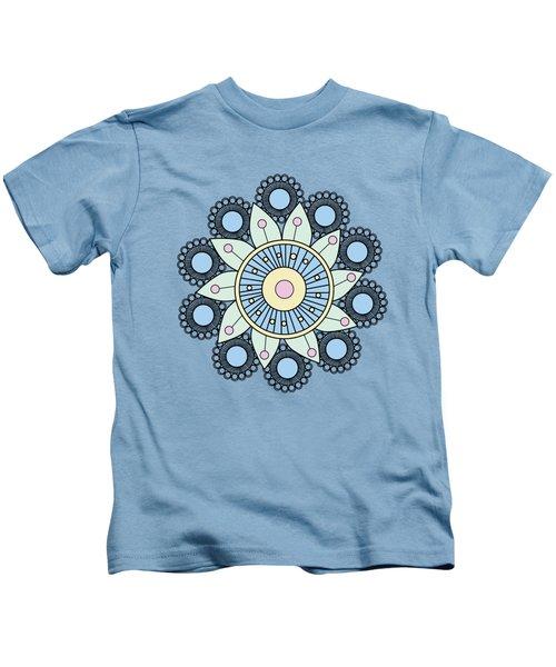 A Mandala Doily Kids T-Shirt
