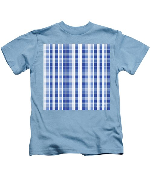 Abstract Squares And Lines Background - Dde609 Kids T-Shirt
