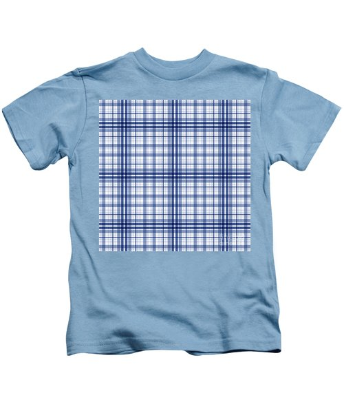 Abstract Squares And Lines Background - Dde613 Kids T-Shirt
