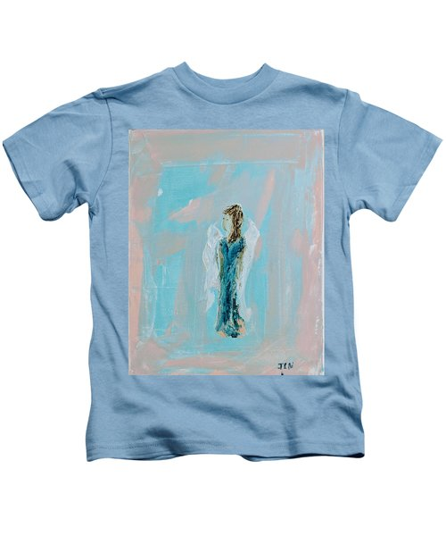 Angel With Character Kids T-Shirt
