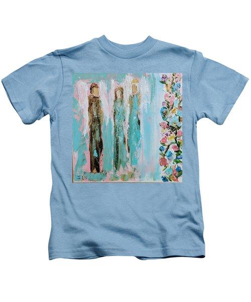 Angels In The Garden Kids T-Shirt
