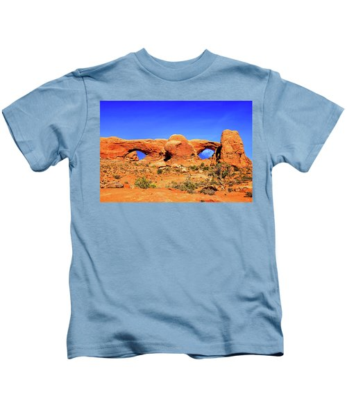 Arches Moon Eye Kids T-Shirt
