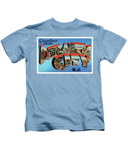 Atlantic City Greetings #3 Kids T-Shirt
